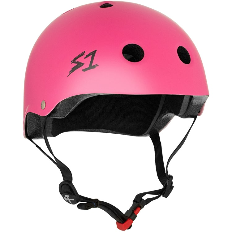 S1 Lifer Kids Multi Impact Helmet - Pink Matte