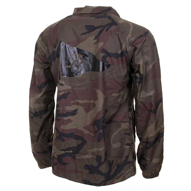 Primitive Pennant Coaches Jacket - Woodland Camo