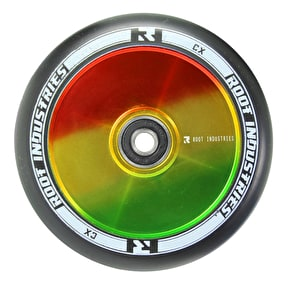 Root Industries 110mm Air Wheel - Rasta/Black