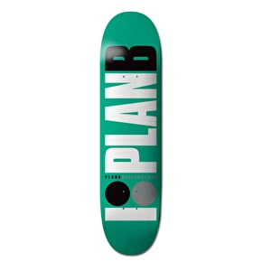 Plan B Skateboard Deck - Team OG Green 7.75
