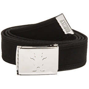 Grizzly OG Bear Logo Clamp Belt - Black