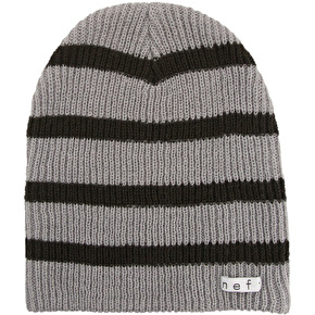 Neff Daily Stripe Beanie - Grey