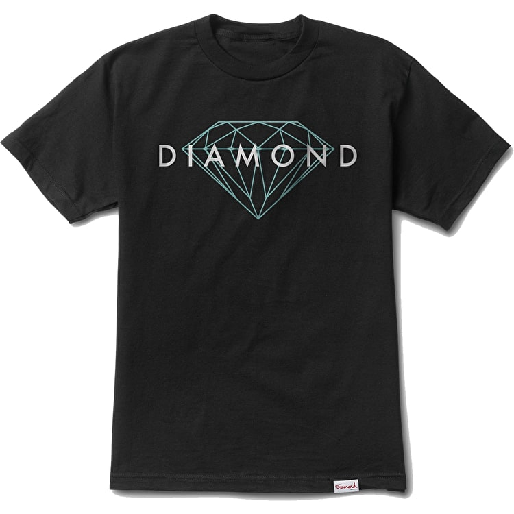 Diamond Brilliant T-Shirt - Black