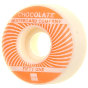 Chocolate RPMs Skateboard Wheels - 51mm