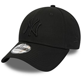 New Era New York Yankees MLB 9FORTY Snapback Cap - Black/Black