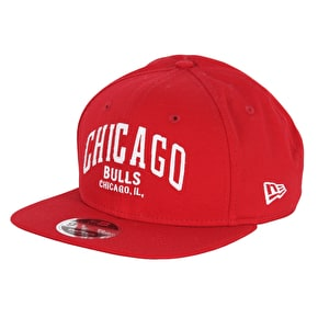 New Era 9Fifty Felt Script Cap - Chicago Bulls