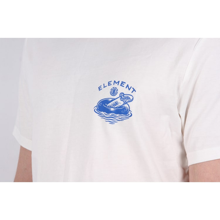 Element River Keeper T shirt - Bone White