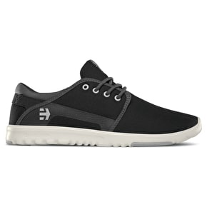 Etnies Scout Skate Shoes - Black/Dark Grey/Grey