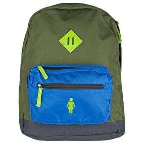 Girl School Yard Backpack - Olive