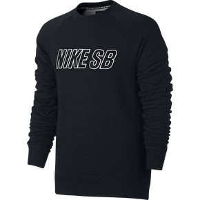 Nike SB Everett Reveal Crew - Black/White