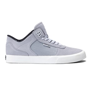 Supra Ellington Vulc Shoes - Light Grey/Off White