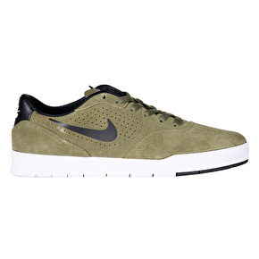 Nike SB Paul Rodriguez 9 CS Skate Shoes - Medium Olive/Black