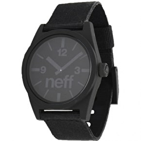 Neff Daily Woven Watch - Black