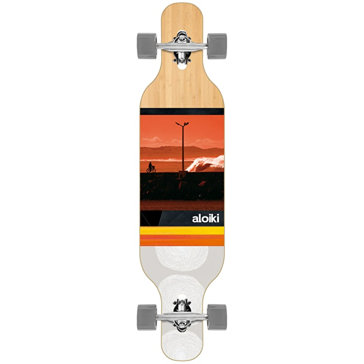 "Aloiki Zunga 40"" Drop Through Complete Longboard"