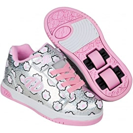 Heelys Dual Up X2 - Silver Glitter/Light Pink/Paws