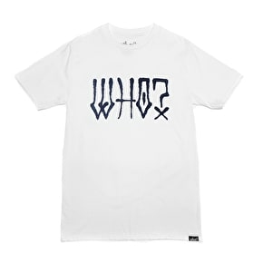Who? Graff Logo T-Shirt - White