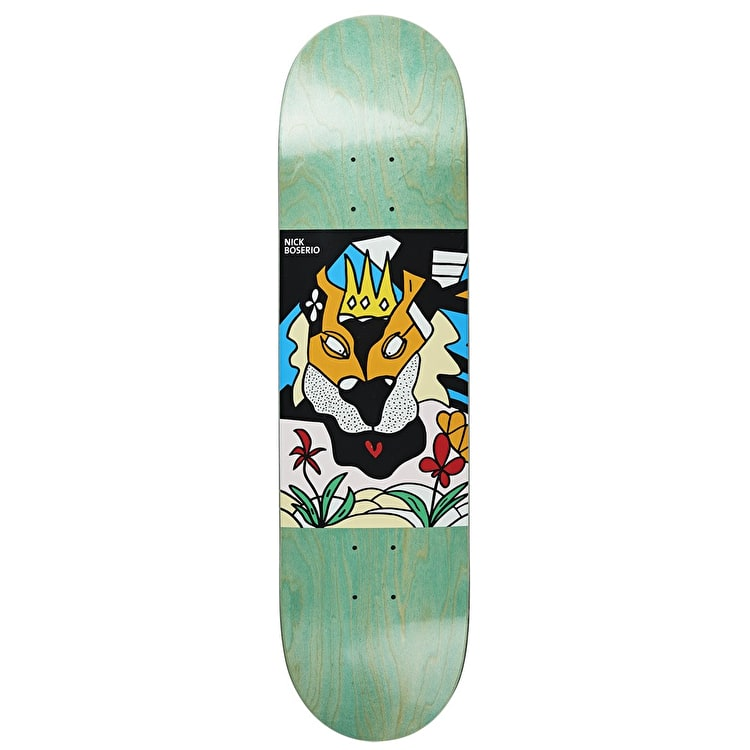 Polar Lion King Skateboard Deck - Boserio 8.125""