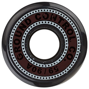Ground Control Wheels - Black - 59mm/90A