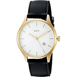Neff Estaban PU Watch - Gold/Black