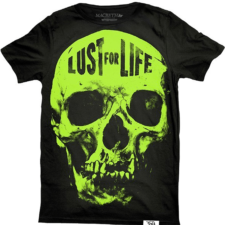 Macbeth Lust Skull Premium T-Shirt - Black