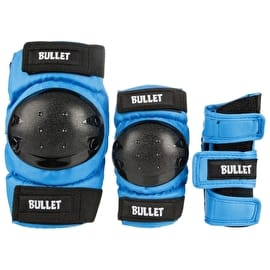Bullet Combo Standard Pad Set Junior - Blue