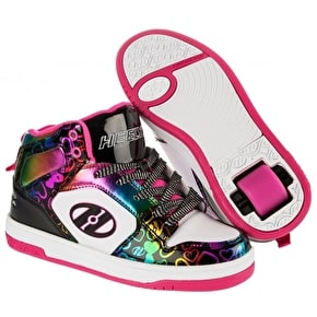 Heelys Flash 2.0 - Black/White/Multi