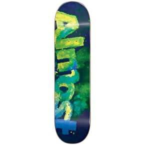 Almost Blotchy Logo Skateboard Deck - Green 8