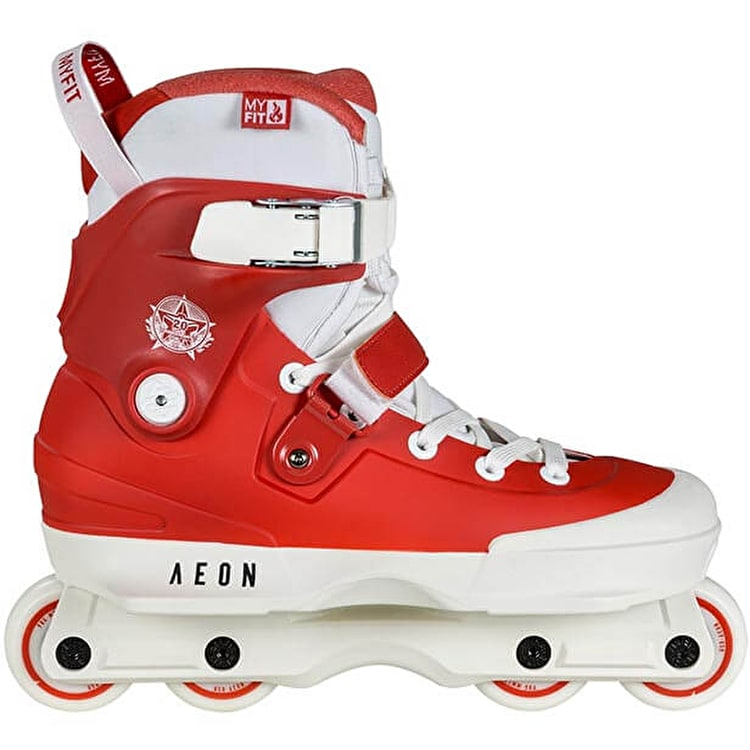 USD Aeon 60 20Y Rachard Aggressive Skates - Red