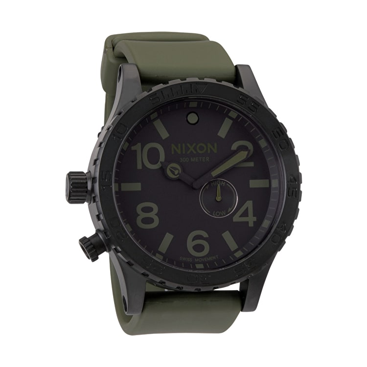 Nixon 51-30 PU Watch - Matte Black