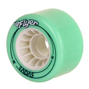 Radar Flyer 66mm Outdoor Quad Wheels- Lime 78A (Pack of 4)