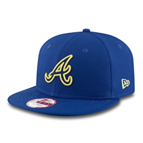 New Era 9Fifty Snapback Cap - MLB Atlanta Braves - Yellow Pop
