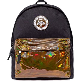 Hype Holo Pocket Backpack - Black/Bronze