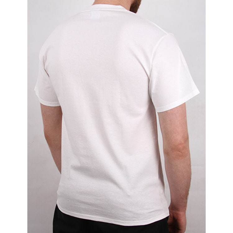 Braille University T Shirt - White