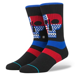 Stance Freedom Heads Socks - Black