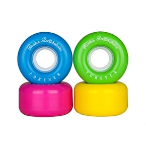Rookie All Star Forever Quad Roller Skate Wheels - Multi 58mm (Pack Of 4)
