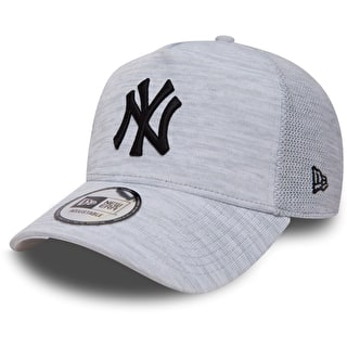 New Era Engineered Fit A Frame - NY Yankees Cap - Grey/Black