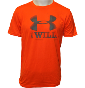 Under Armour CC Contender T-Shirt- Toxic/Graphite