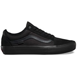 Vans Old Skool Skate Shoes - Blackout