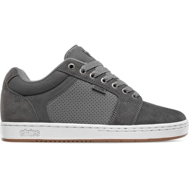 Etnies Barge XL Skate Shoes - Grey/White/Gum