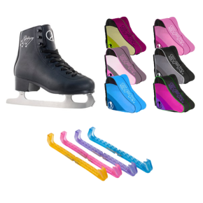 SFR Galaxy Ice Skate Bundle-Black