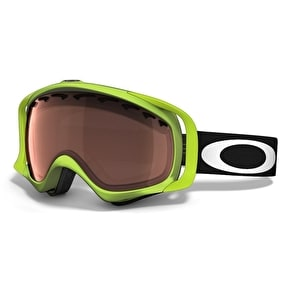 Oakley Crowbar 80 Green Snow Goggles - Prizm Black Iridium