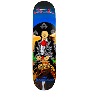 Primitive Amigo Skateboard Deck - Paul Rodriguez 8.1