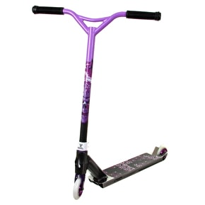 District x MGP Custom Scooter - Cheapshots Black Chrome/Purple