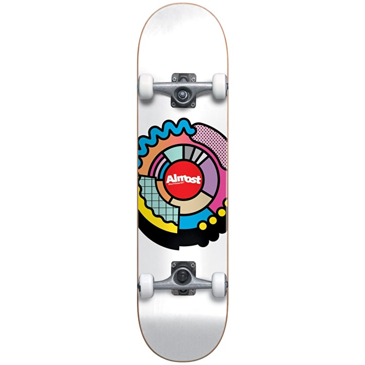 """Almost Centre Block Youth Complete Skateboard - 7.25"""""""