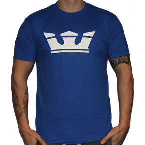Supra Icon T-Shirt Royal Blue White