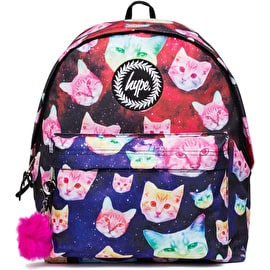 Hype Cosmo Cat Pom Pom Backpack - Multi