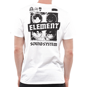 Element Sound System T-Shirt - White