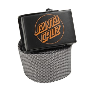 Santa Cruz SCS Simple Dot Web Belt - Carbon