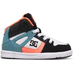 DC Rebound SE UL Skate Shoes - Black/Multi