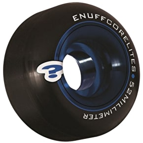 Enuff Corelite Black Skateboard Wheels (Pack of 4)